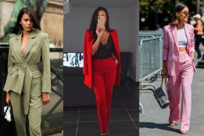 ¡5 formas de llevar un traje de mujer elegante!