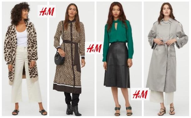 Ropa de invierno para mujer de H&M para 2020