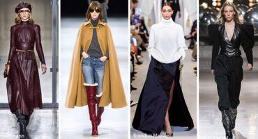 ¿Qué ropa de mujer está de moda en el invierno 2019-2020?
